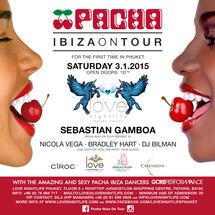 PACHA - IBIZA ON TOUR - SEBASTIAN GAMBOA